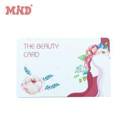 بطاقة هدايا PVC ذات السعر المنخفض مع طباعة عالية الجودة