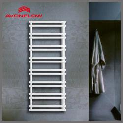 Avonflow 백색 전기 수건 건조기 장식적인 목욕탕 벽 수건 선반