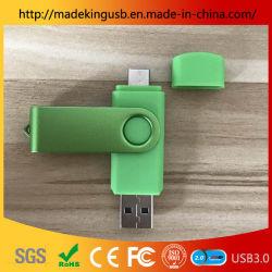 Barato de plástico coloridas em forma de Batom Unidade Flash USB OTG