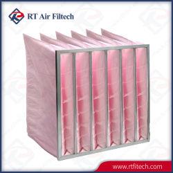 Saco de bolso de fibra sintética de mídia do filtro de ar (G4-F9)