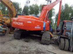 Usadas de excavadora Hitachi EX220LC con aguilón largo
