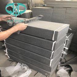 Ken en granit noir/Nouveau G684 Granit/nuit pour les murs de granit noir/Flooring/Tile/comptoir de cuisine/étapes/escalier de pierre tombale/Fountain/vanité haut /Paving Stone
