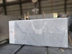 Pietra di granito grigio fiammato per piastrelle/piano di lavoro/pavimentazione/Monumento/mattone di pavimentazione