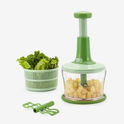 De fijnhakkende Spinner van de Salade van de Keukenmachine van de Dehydratie Bewegende