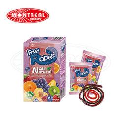 18% Fruchtsaft-gummiartige Süßigkeit-Bonbons