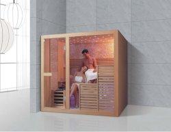 Loiça sanitária luxuosa sala de sauna seca sauna de infravermelhos quarto (826)
