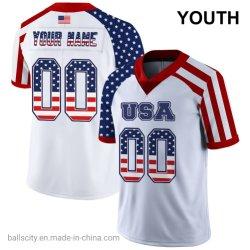 100 % poliéster Diseño nuevo precio de ganga de Rugby juvenil de fútbol jersey