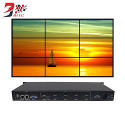 Video Wall Controlador 3X3 2X2 3X2 4X2 USB HDMI VGA Audio Outputlcd TV Procesador de empalme