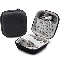 網のポケットが付いている耐震性の耐水性の堅いエヴァのイヤホーンの箱
