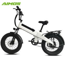 Bicicletta elettrica della bici grassa elettrica della gomma da 20 pollici con la batteria Integrated