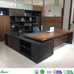 Высокая версия MDF панели дерева административной канцелярии зал письменный стол мебель