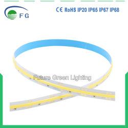 180 grados de alta calidad gran ángulo de visión alto brillo LED DE 24V 640COB TIRA DE LEDS