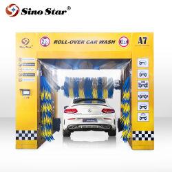 O design exclusivo da marca haitiano Rolagem rápida máquina de lavagem de carros A7 do Sino Star