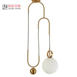 Современный потолочный светильник из стекла люстру освещение искусства (ZLA059P)