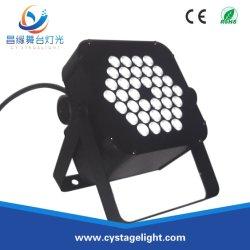 Flaches NENNWERT Licht LED-Wand-Unterlegscheibe-Stadium RGB-36*3W LED