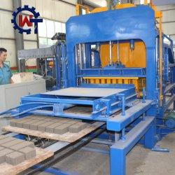 Qt4-15 volledig Automatische Hydraulische Concrete het Maken van het Blok en van de Baksteen Machine