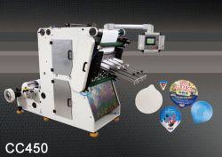 Couvercle de yogourt perforation automatique complète de la machine pour l'emballage de yogourt