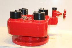 La alimentación de agua contra incendios de Ca Hidrante Breeching Válvula de admisión