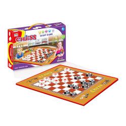 Commerce de gros Les enfants jouer en plein air en plastique Tapis de jeu Big Échiquier