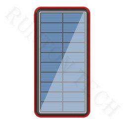 Rt-S8 низкой цене водонепроницаемый солнечной электроэнергии банк зарядное устройство 30000 mAh