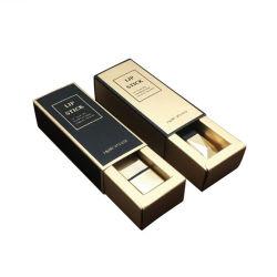 Commerce de gros Papier Doré, rouge à lèvres Case cosmétiques de luxe vernis à ongles Case personnalisé