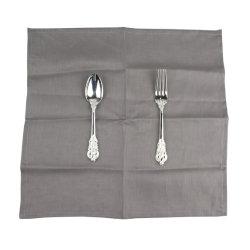 Commerce de gros chiffon de coton de linge de table serviettes en tissu pour le dîner de mariage