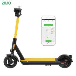 Adultos Fastwheel 2020 2G/4G Alquiler de GPS Batería extraíble de bloqueo mecánico de aves de Lima Compartir Scooter eléctrico