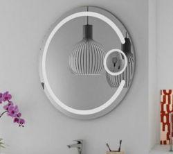 Agrandir la salle de bains 3X-5X monté sur un mur décoratif 3000-5000K Miroir DEL de couleur blanc chaud