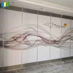Sala banchetti scorrevoli Acoustic divisori mobili pareti mobili fonoassorbenti