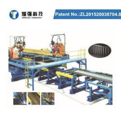 Gruppo di saldatura orizzontale raddrizzatura H fascio linea di produzione attrezzatura