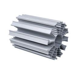 Aluminium extrudé industriel profil pour le dissipateur de chaleur enduits/l'anodisation