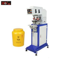 昇進のための2つのカラーパッドプリンターアルミ缶プリント機械