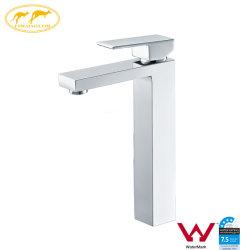 Filigrane porcelaine sanitaire carré laiton chrome robinet Salle de bains (HD4203H)