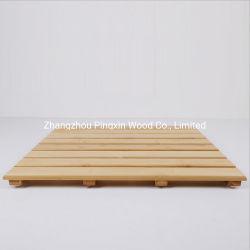 Alta calidad de alfombra de baño ducha estera de bambú el bambú SPA Sauna Mat