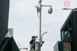Slimme LEIDENE van Lightwith van de Straat Vertoning die Reclame aantrekken