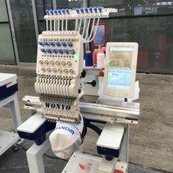 Wonyoの単一のヘッド刺繍の機械によってコンピュータ化される刺繍機械価格