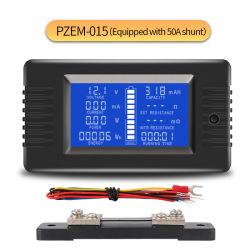 La fábrica de alimentación CC Voltímetro digital Medidor de batería