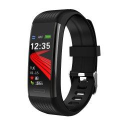 Timethinker R1のスマートなブレスレットの防水適性の追跡者の血圧の心拍数のモニタ大きいカラースクリーンビジネスブレスレット