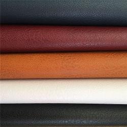 Высокое качество оптовой рельефным фо имитация ПВХ/полу-PU натуральная ткань для дивана обивка мебели