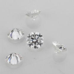 1CT Def gegen Labor gewachsenen Hpht Diamanten für Schmucksache-Ring