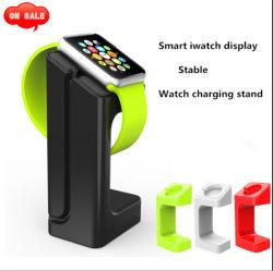 アクリルのプラスチック展覧会の充満ベースが付いているスマートなIwatchの表示