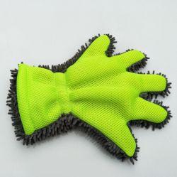 Lavage de voiture de nettoyage en microfibres mitt gant mitaine de lavage de chenille