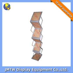 Portable fácil movimentação do material da estrutura de alumínio prateleira dobrável