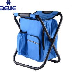 Dobragem recolhível Camping cadeira e isolada saco térmico com zíper