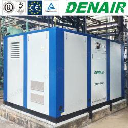 Baixa Saída Tempreature Água Ar Lubrificado Parafuso Rotativo de compressores de ar