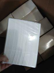 Restaurantes papel descartáveis guardanapo logotipo personalizado impresso em papel branco guardanapo