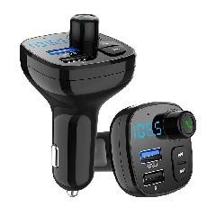 Bt12 de promoción de la mejor calidad coche reproductor de MP3 con Bluetooth radio FM Auto coche Cargador de Mechero cargador rápido 3.0 Transmisor FM Cargador de coche