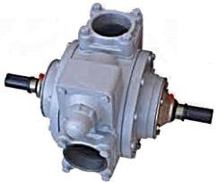 Medidor de flujo de la unidad de dispensador de combustible con la bomba