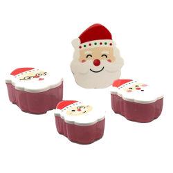 Caixa de presentes de Natal, Bonitinha Santa Claus Modeling frutos doces dons