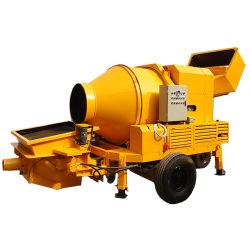 Pompa per calcestruzzo di alta efficienza di alta qualità con il miscelatore